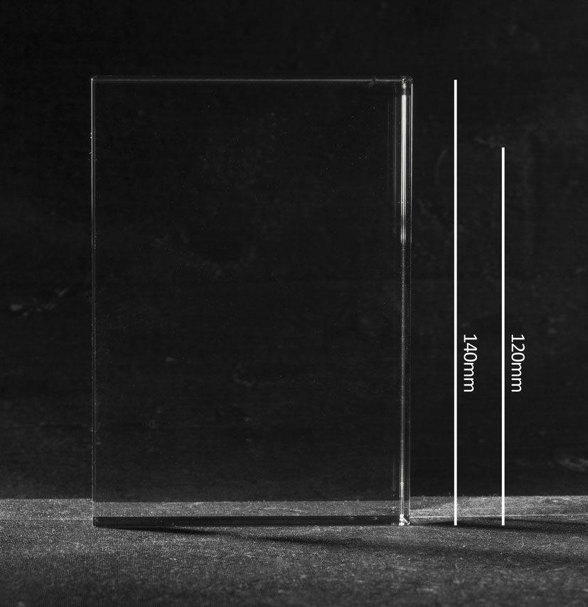 Foto in glas Iceberg staand