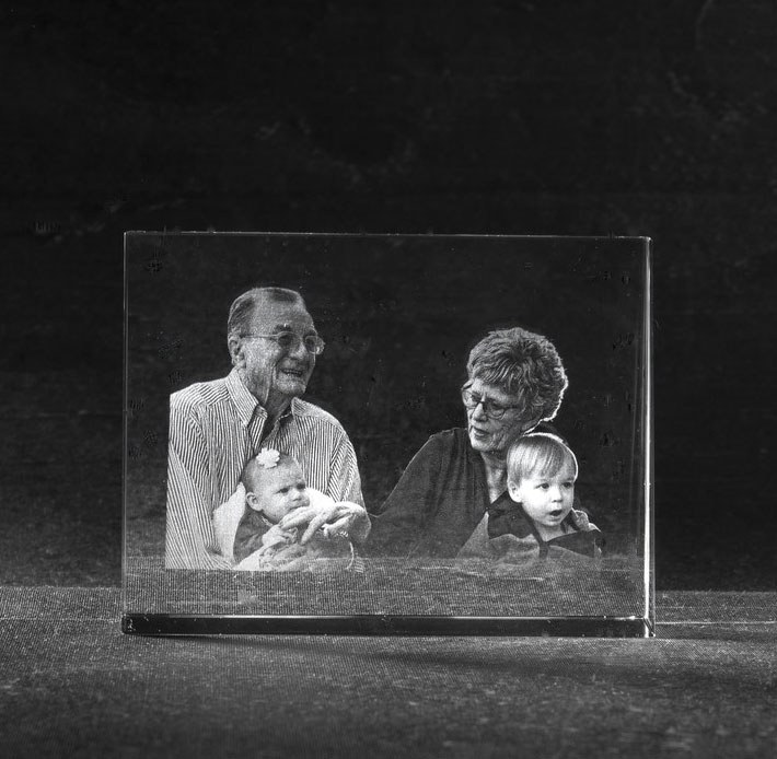 Foto in glas Landscape